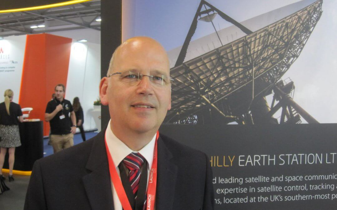 Farnborough 2018 Interview: Goonhilly Earth station is back and doing very nicely thank you says its CEO Ian Jones