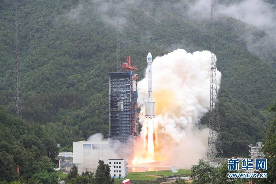 China conducts two launches before the month is out