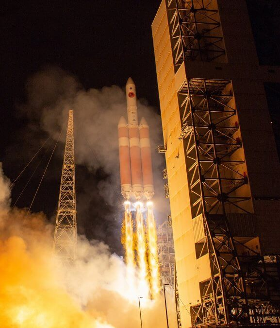After one day delay NASA's Parker Solar Probe is launched by Delta IV Heavy on its way to Sun