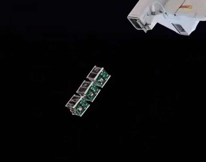 Three more cubesats pinged out of ISS