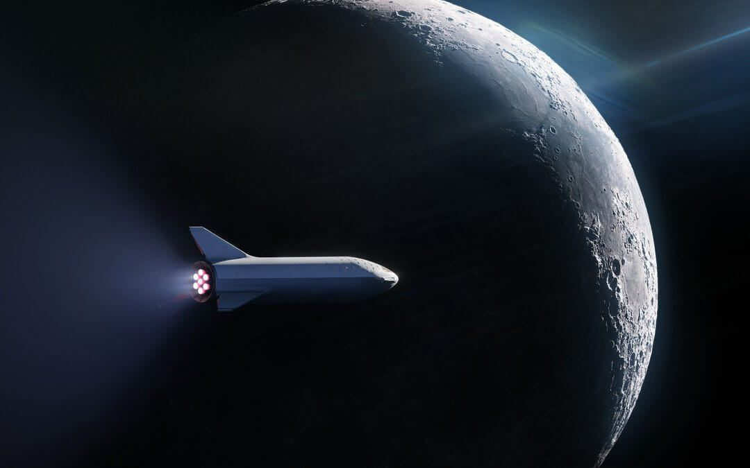 SpaceX to fly a Japanese paying passenger and his artist friends around the Moon in 2023 (Updated)
