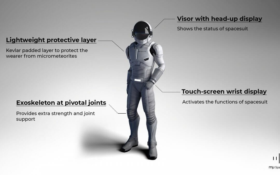 Thai privateer space company mu Space releases design for new space suit