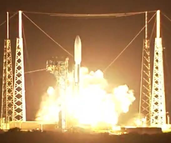 AEHF 4 comsat for US military is successfully launched by an Atlas V