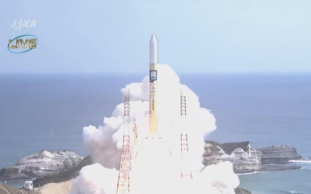 Japan launches greenhouse gas monitoring successor satellite GOSAT-2