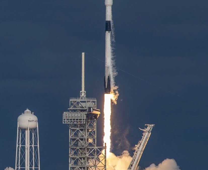 Es'Hail-2 is successfully launched by Falcon 9