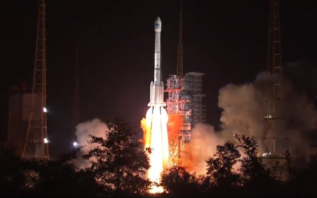 China launches Beidou navigation satellite to GEO