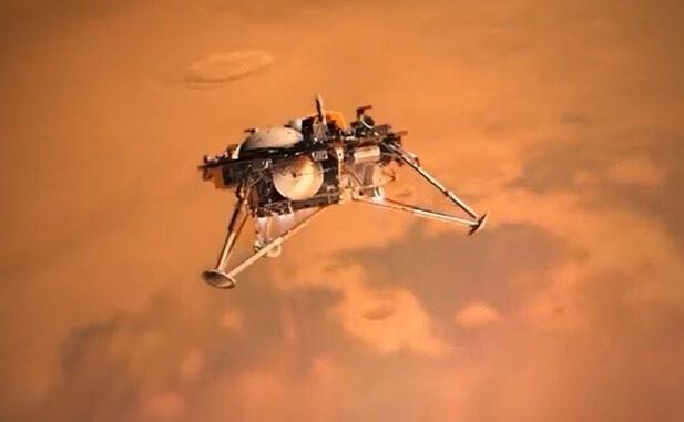NASA celebrates the landing success of its Mars InSight mission