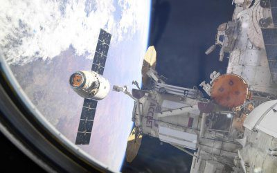 Dragon CRS-16 departs ISS and splashes down carrying return cargo