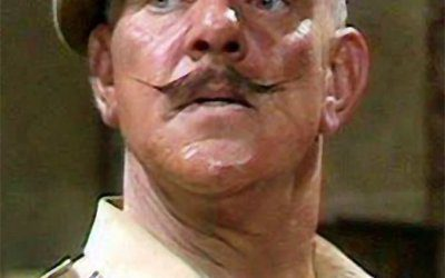 On a sadder note: It is goodbye to comedy actor and archetypal British Army Sergeant Major Windsor Davies