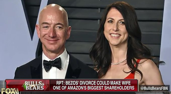 Amazon billionaire and Blue Origin founder Jeff Bezos has divorce woes