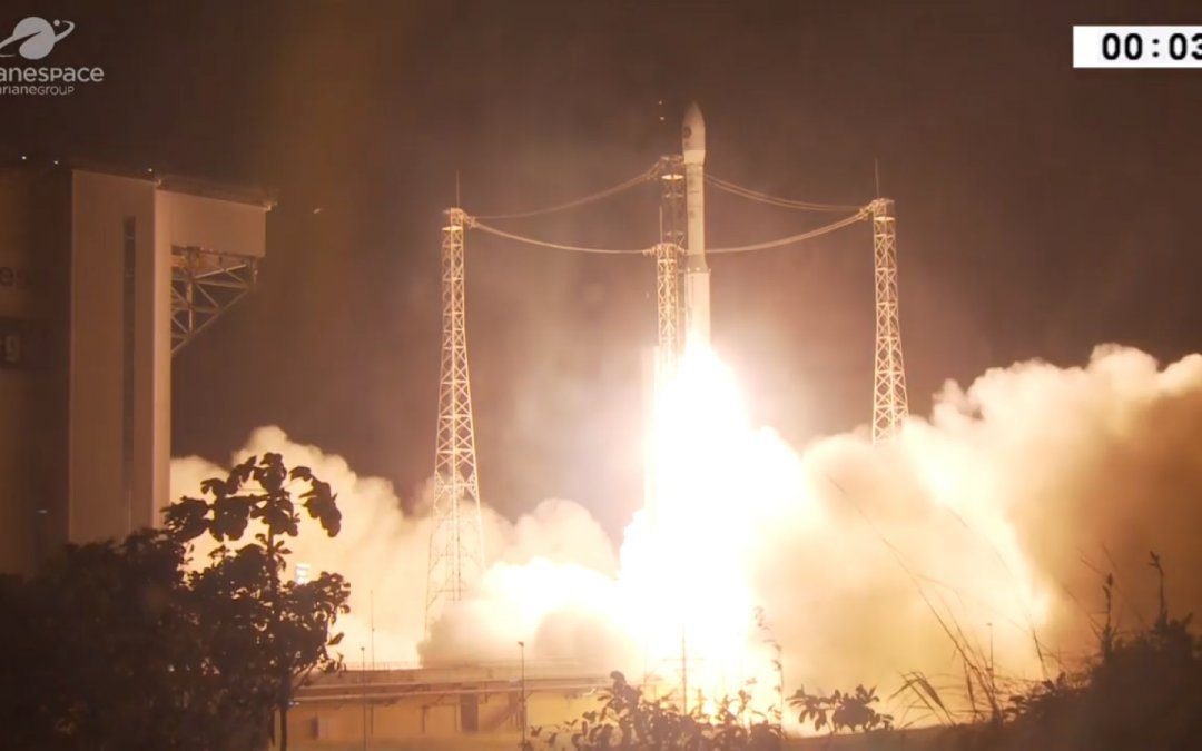 First Vega launch of the year orbits Italian PRISMA spacecraft
