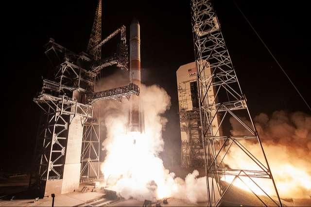 WGS 10 comsat is launched by Delta IV