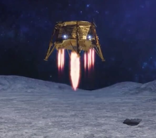 Beresheet crashes on Moon after IMU reset glitch cuts landing engine