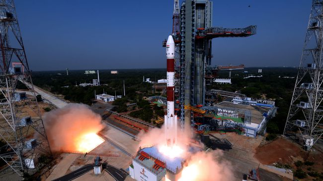 New four booster PSLV-QL version launches 29 satellites plus its own converted upper stage…but not everything went to plan