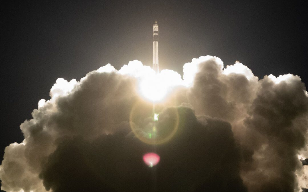 Electron rocket flies successfully with three satellites on board