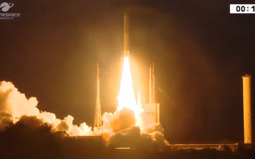 Arianespace completes dual GEO launch for telecoms customers
