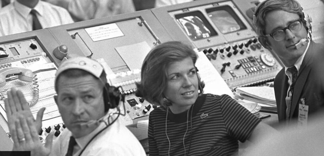 Apollo 11: The only woman in the Saturn V firing room