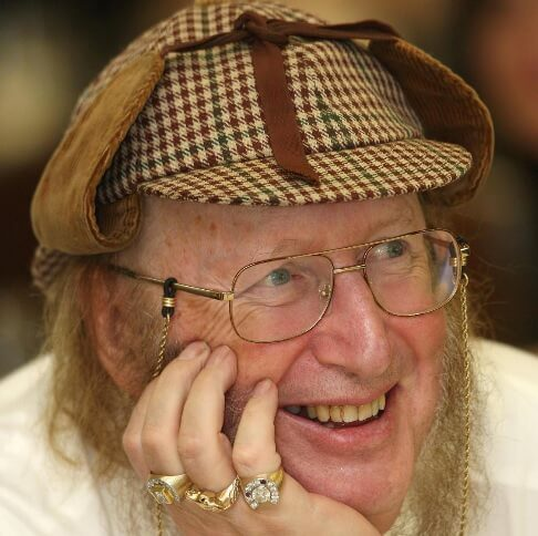 On a sadder note: Racing pundit John McCririck passes away…as does columnist Christopher Booker and veteran actor Freddie Jones