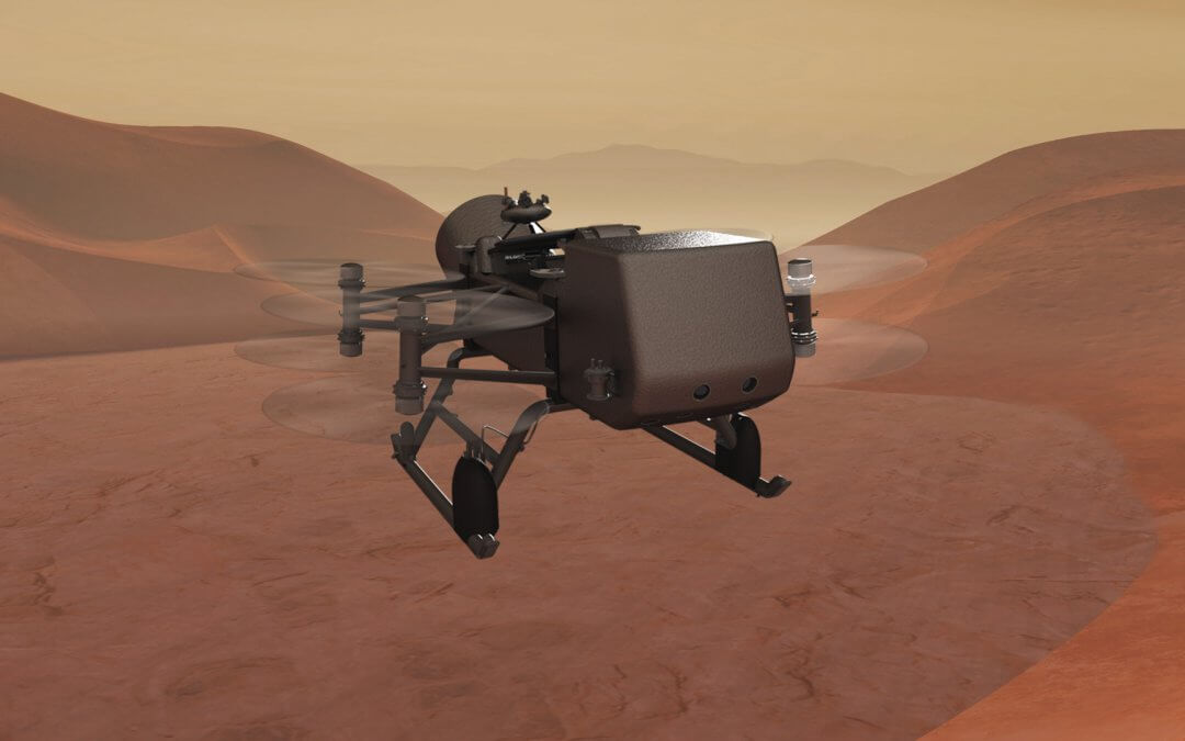 NASA plans interplanetary mission: a Titan drone