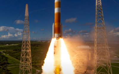 Swansong of Delta IV Medium successfully launches second GPS III navsat