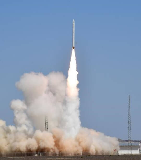 Jielong 1 launches itself successfully on maiden flight and carries three small satellites into orbit