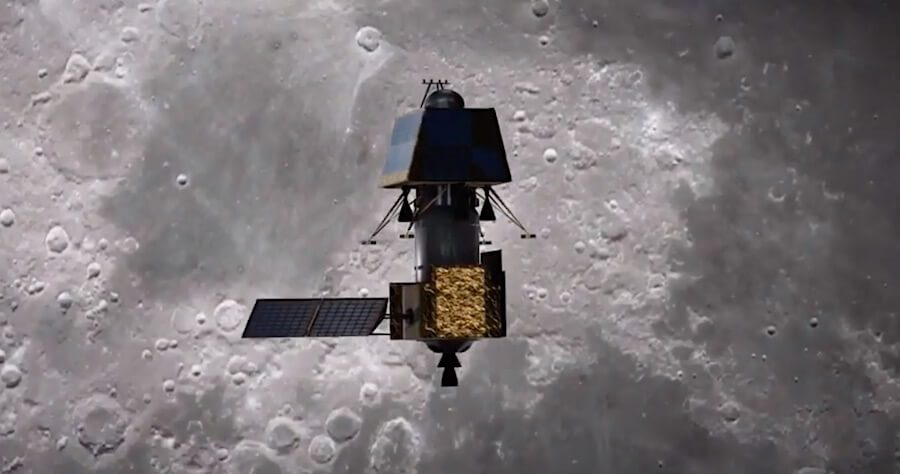 India's lunar orbiter/lander/rover mission Chandrayaan 2 brakes itself into lunar orbit