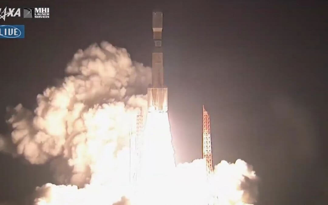 Following launch pad issues Japan launches HTV-8 mission to the ISS