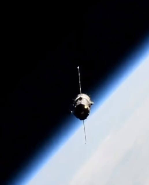Robot leaves the International Space Station (ISS) on board Soyuz MS-14