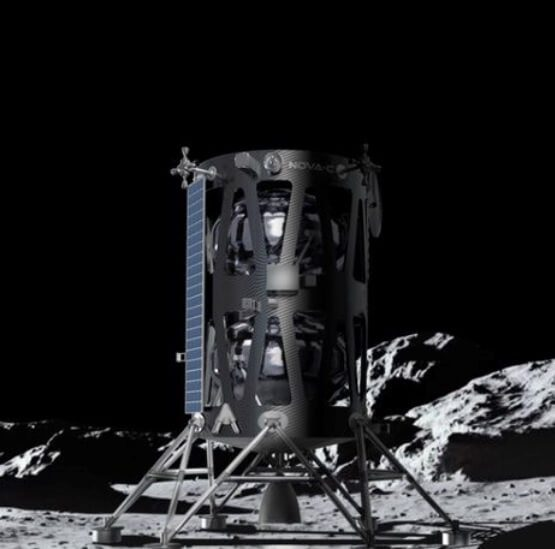 Nova-C lunar lander is signed to a SpaceX Falcon 9 launch