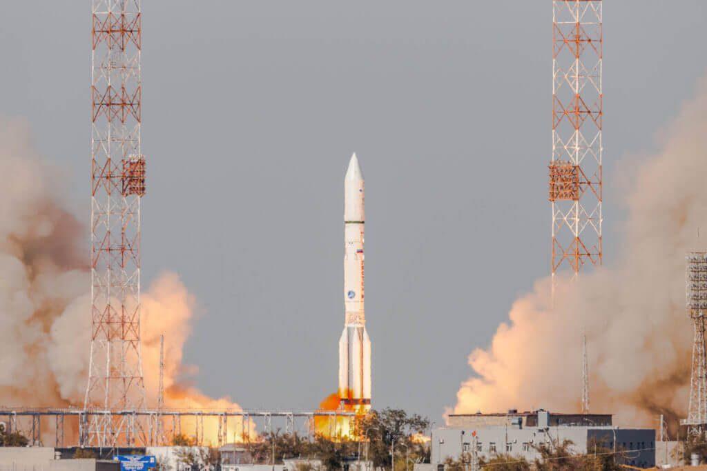 Proton M flies Eutelsat 5 West B comsat and MEV-1 servicing spacecraft into orbit…then ILS President Kirk Pysher resigns