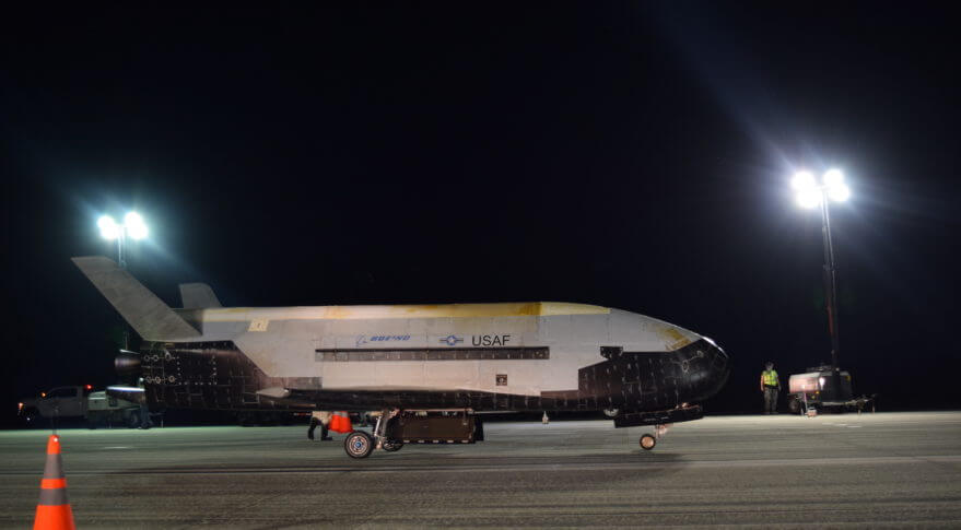 Analysis: Was the X-37B/OTV mission 5 illegal under international law?