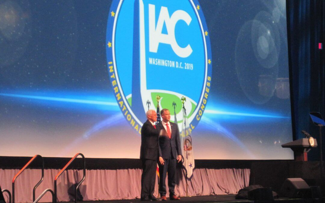 IAC 2019 Washington DC: NASA head Bridenstine diplomatically nods towards cooperation despite choosiness of Trump Administration