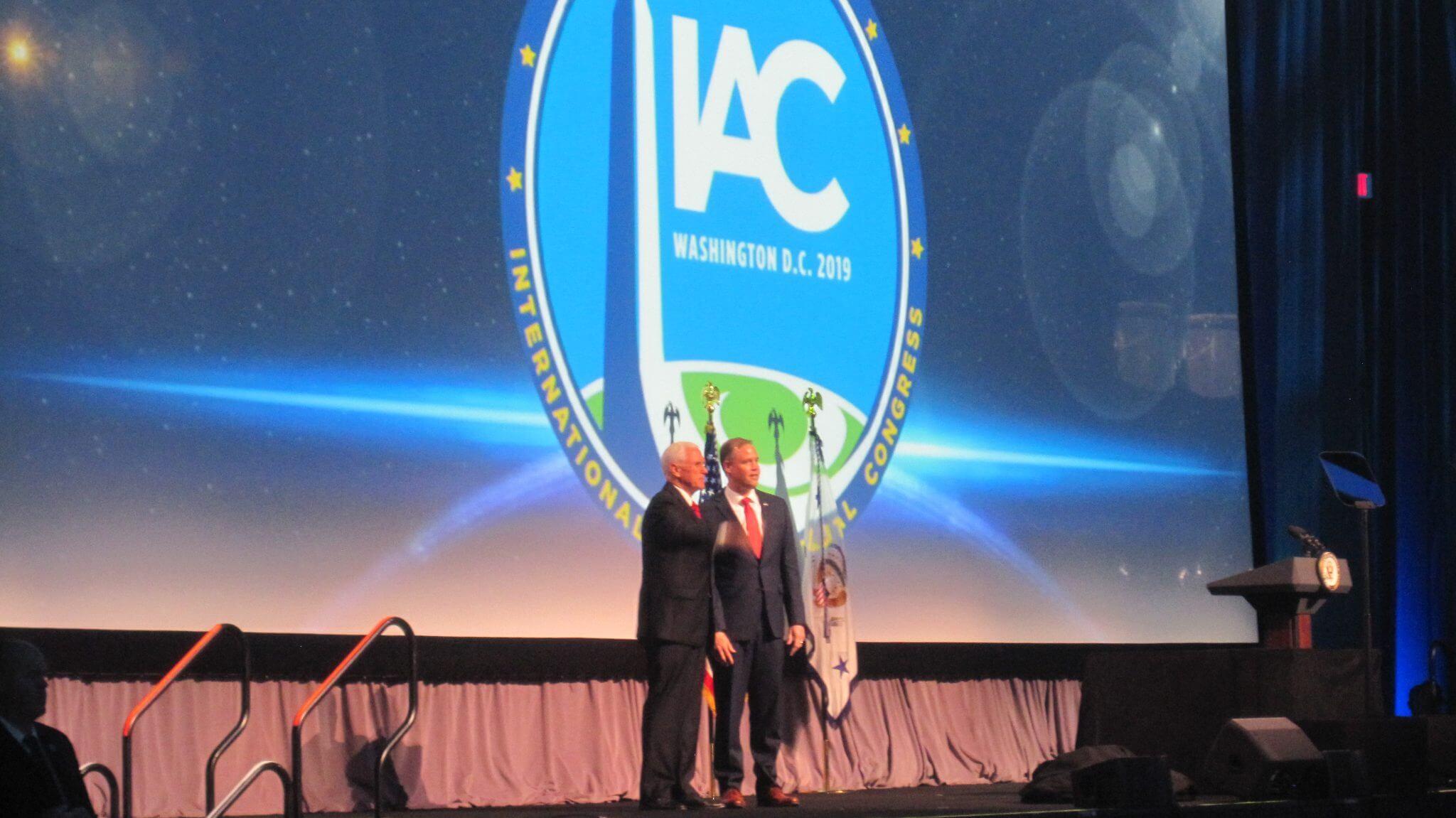 IAC 2019 Washington DC: NASA head Bridenstine diplomatically nods towards cooperation despite choosiness of Trump Administration