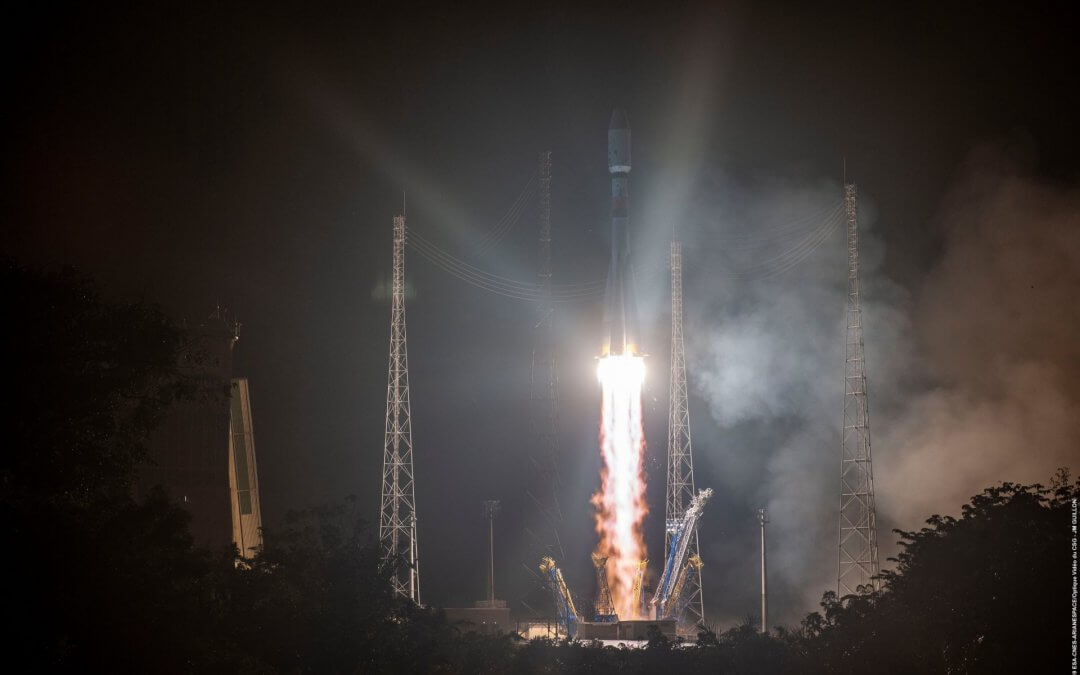 Soyuz ST-A/Fregat M launches five spacecraft including CHEOPS planet hunter and a Cosmo-Skymed Second Generation imaging sat