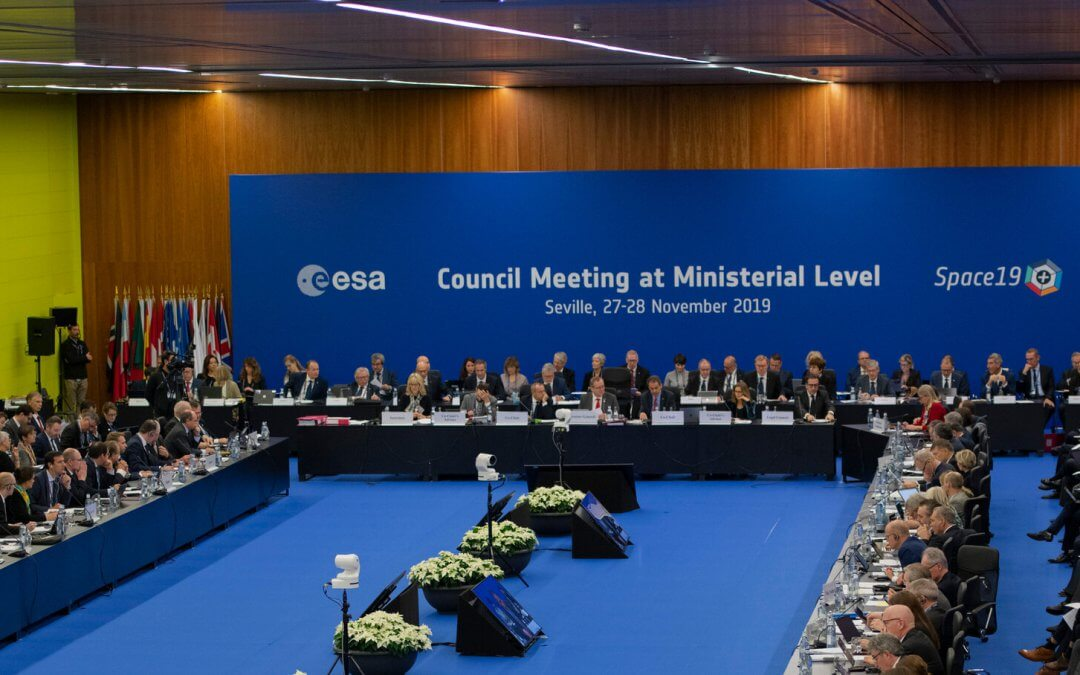 Ministerial meeting agrees ESA budget for next three years