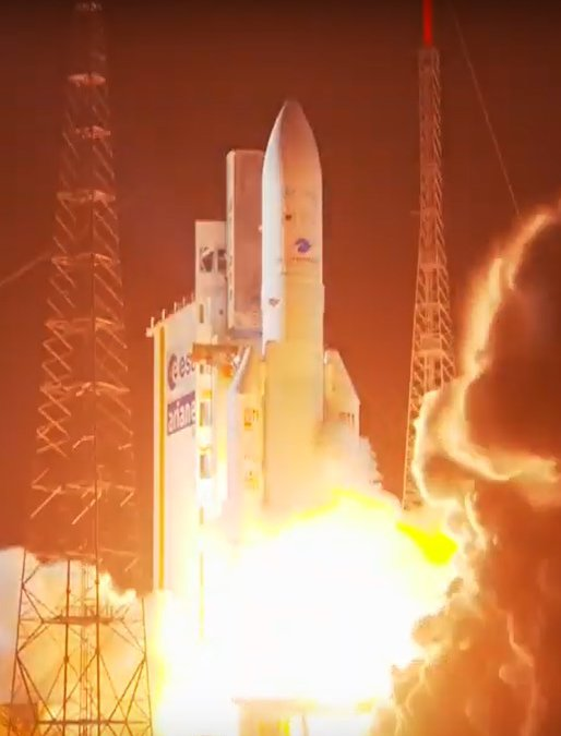 Ariane 5 launches JCSAT 17 and GEO Kompsat 2B sats into orbit