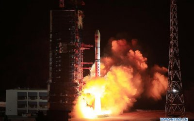 China makes unusual (for it) Long March 2D launch from Xichang with four XJS satellites aboard