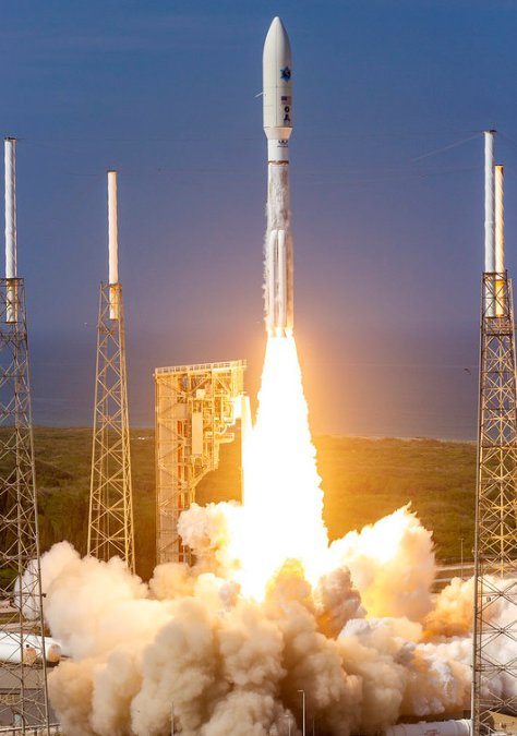 ULA Atlas V launches AEHF-6 comsat in first launch for new US Space Force