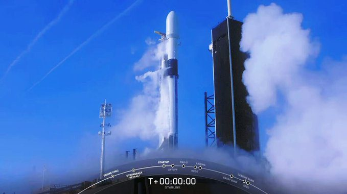 Abort stymies Falcon 9 launch of Starlinks but it later flew successfully albeit with one engine shutdown and loss of reusable first stage