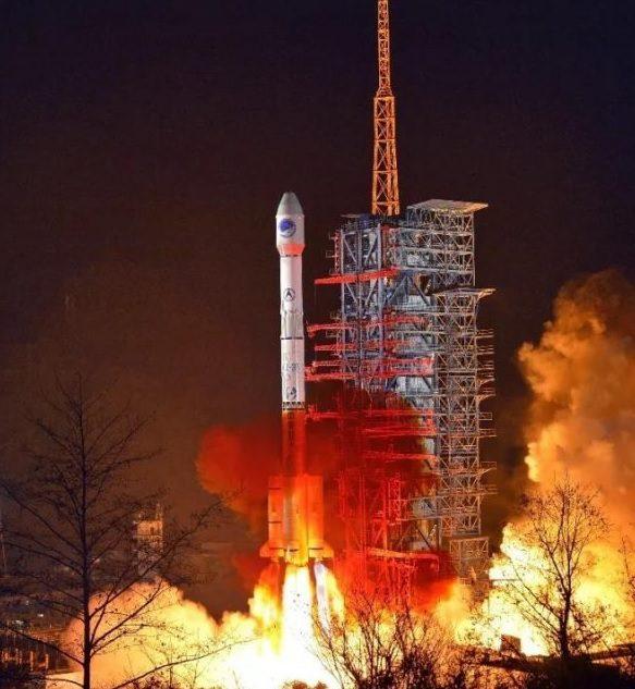 Long March 3B flies out of Xichang carrying Beidou navsat to orbit