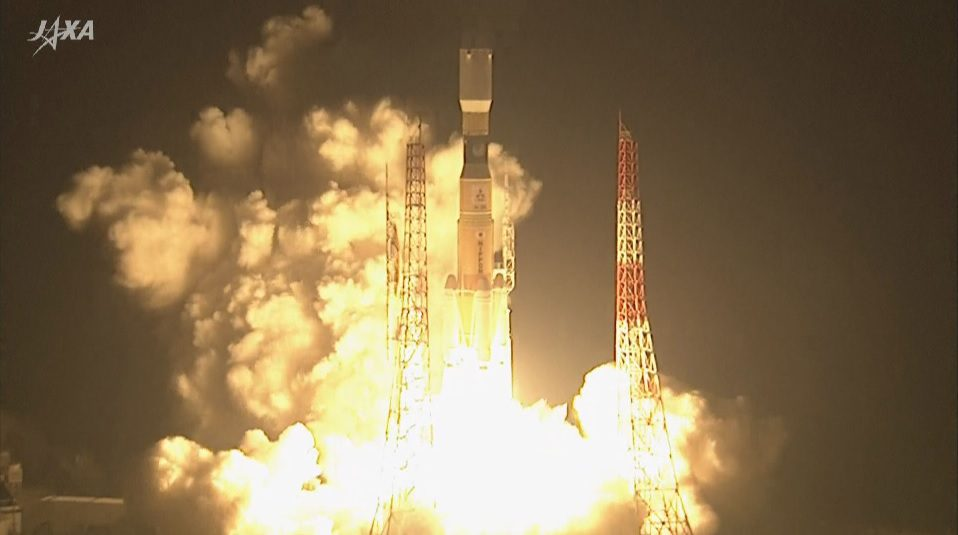 Final H-2B launch delivers last of the current generation HTV freighters to LEO
