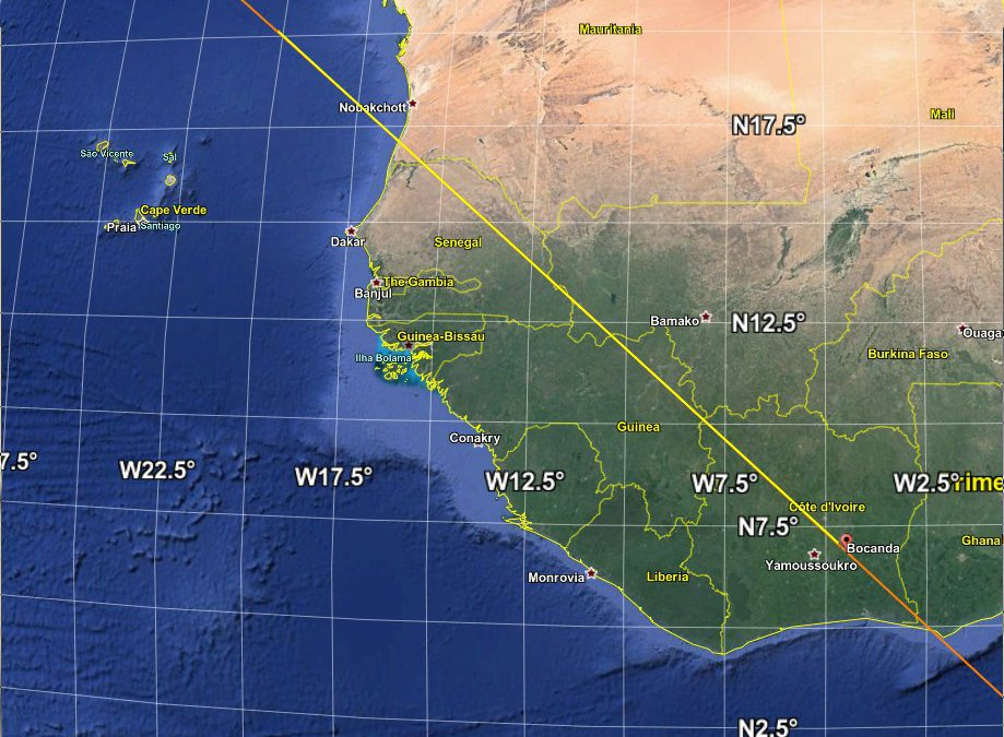 Rocket stage debris from Chinese Long March 5B rocket launch lands on Ivory Coast