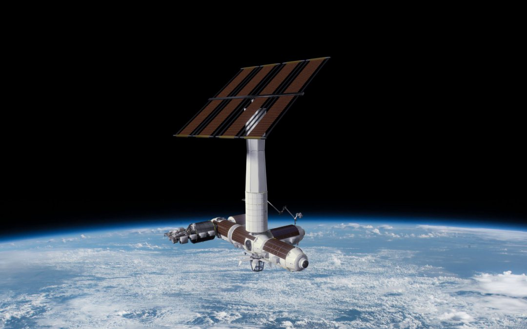 "Axiom ""orders"" two space station modules from Thales Alenia Space initially for attachment to ISS but later to become part of own space station"