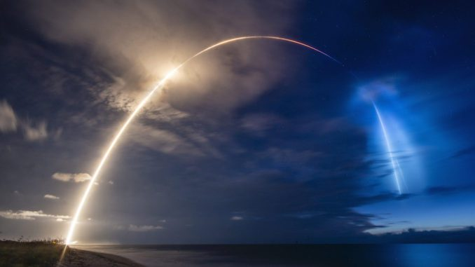 Another day…another Starlink satellite launch…this time with three others