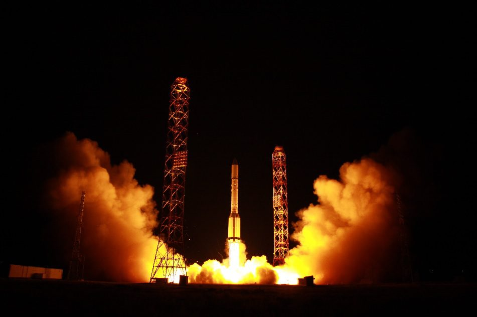 Russia launches two communications satellites