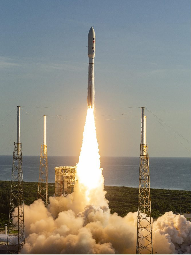 NASA Mars 2020 mission with Perseverance rover launched by ULA Atlas V