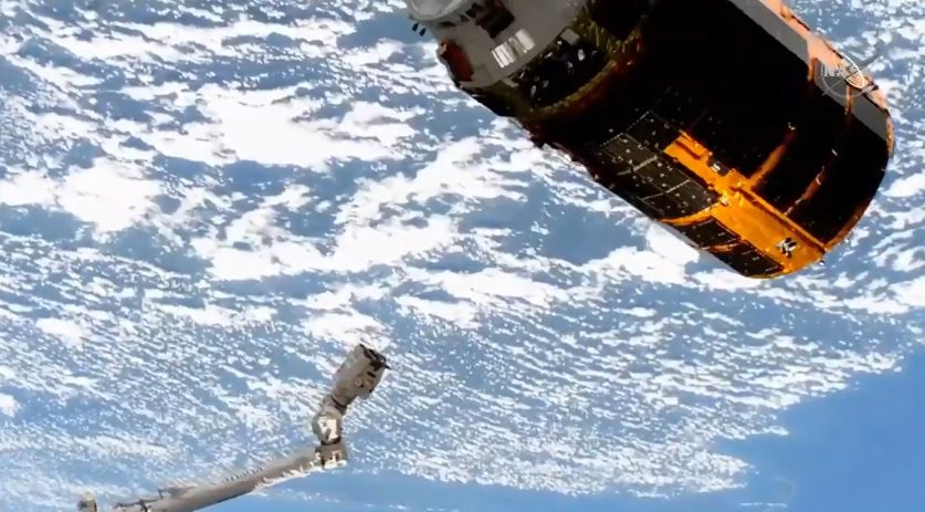 HTV-9 freighter undocks from ISS after delivering battery upgrades marking the end of an era