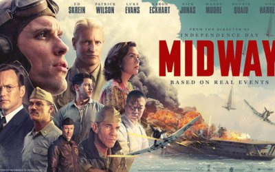 Late Review: Midway (2019) makes a star out of Douglas Dauntless…whoever he is