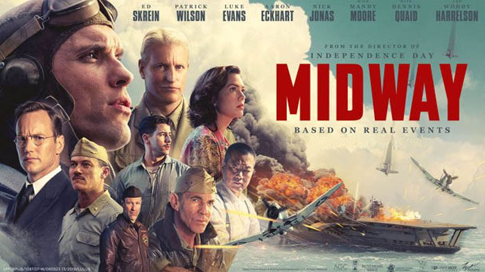 Late Review: Midway (2019) makes a star out of Douglas Dauntless…whoever he is?