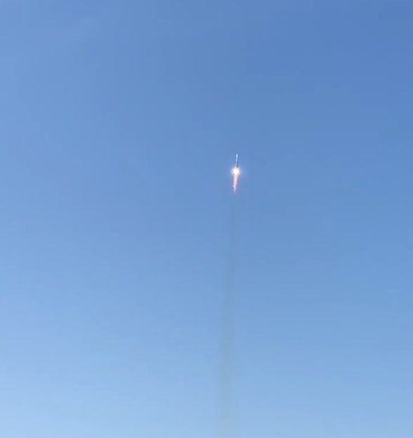 Soyuz rocket launches from Plesetsk carrying three Gonets-M satellites and 19 rideshare passengers